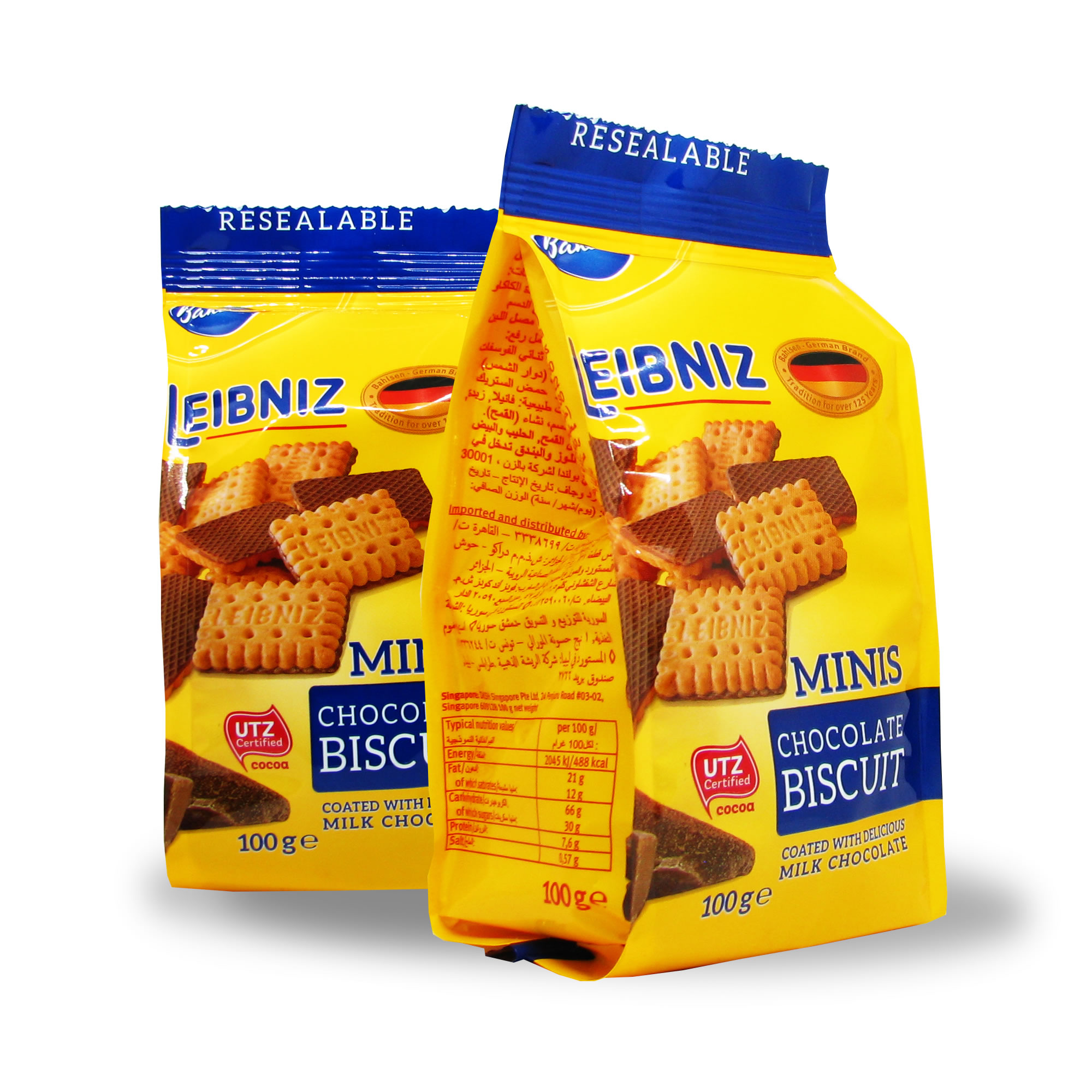Печенье Minis Chocolate Biscuit Leibniz